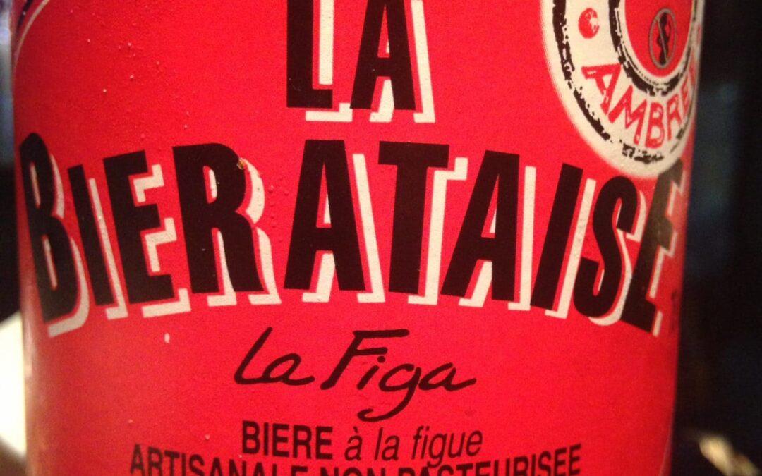 Hoy nos han enviado para catar una cerveza de higos francesa: La Bierataise, la Figa