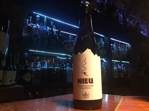 Cerveza Nieu: La IPA de Pirineos Bier - Pub L'Abrevadero Ainsa