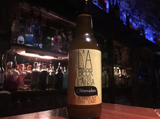 L'A Beer Summer Ale la cerveza de Verano de L'Abrevadero