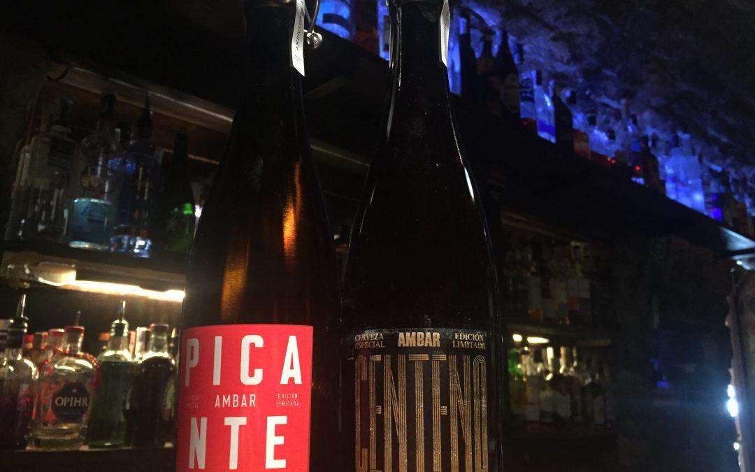 Colección de Cervezas Ambiciosas Ambar en L'Abrevadero