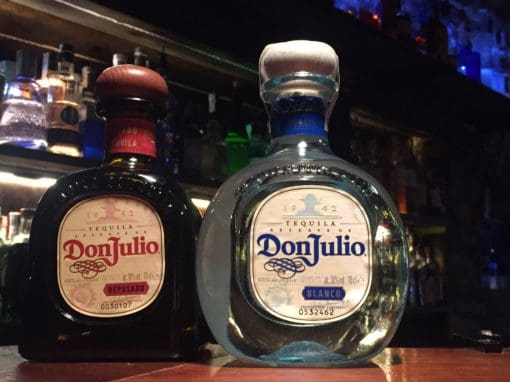 Tequila Don Julio: Blanco y Reposado