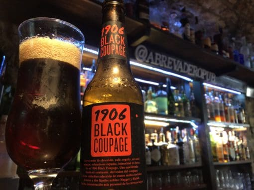 1906 Black Coupage Beer