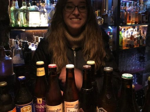 Premio de Cervezas Trapenses entregado a Patri