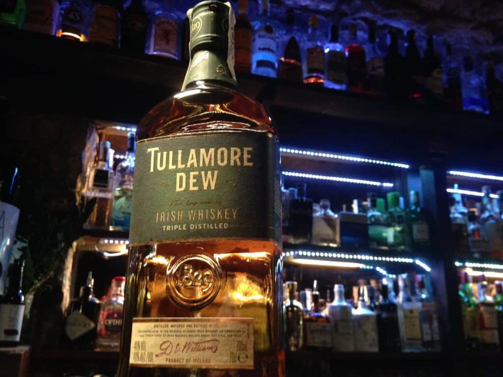 Tullamore Dew Whiskey