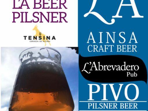L'A Beer PIVO Pilsner. La nueva cerveza de L'Abrevadero