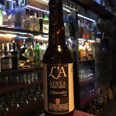 L'A Beer Ainsa Craft Beer