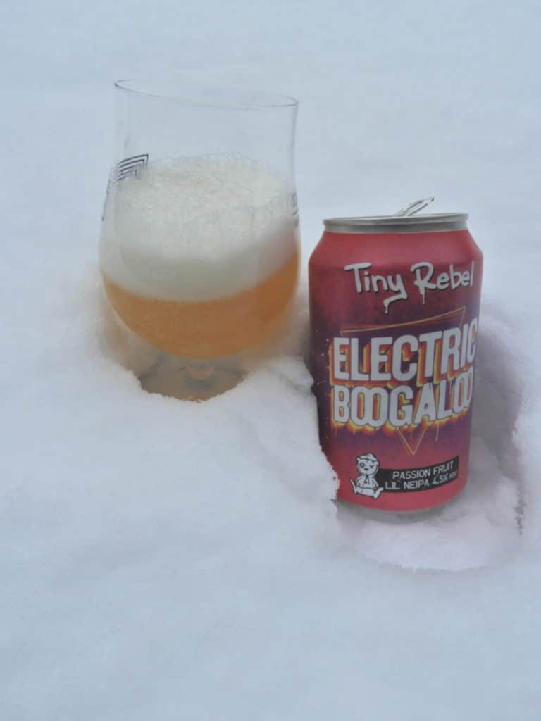 Tiny Rebel Electric Boogaloo Passion Fruit Lil Neipa