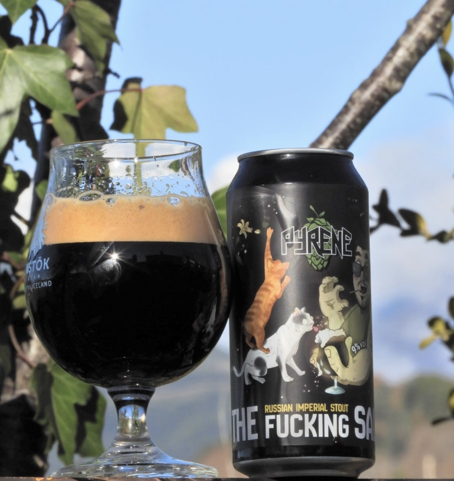 Pyrene The Fucking Salas - Russian Imperial Stout