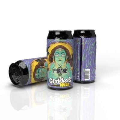 Cerveza Pyrene Wild Goddess Imperial Neipa Nitro (Pack 12)